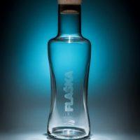 Glazen waterkan van Vodan Flaska