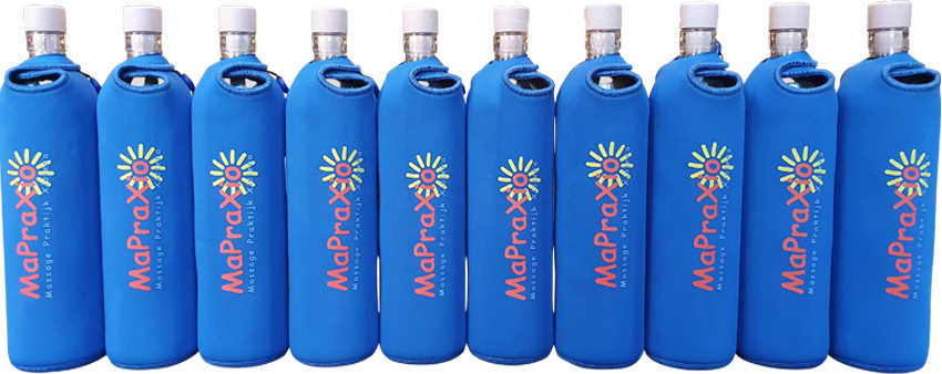 Flaska met eigen logo